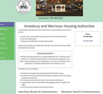 Amesbury Housing Authority home page image