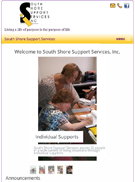 South Shore Support Services home page